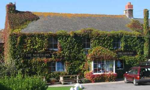 The North Inn pub in Pendeen, Cornwall
